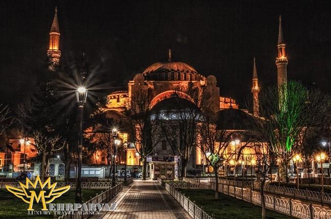 مسجد ايا صوفيه استانبول